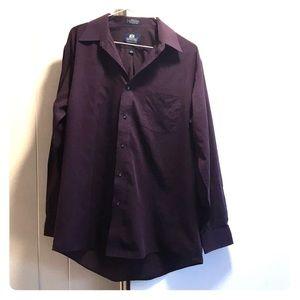 Men's Dress Shirt (Purple)